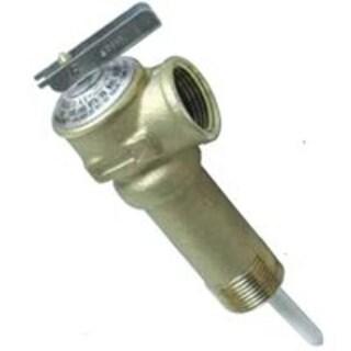 """Camco 10493 Temperature & Pressure Relief Valve, 3/4"""" x 2-1/2"""""""