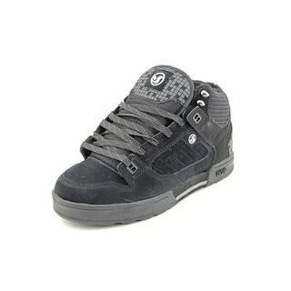 DVS Militia Boot Men Round Toe Leather Black Skate Shoe
