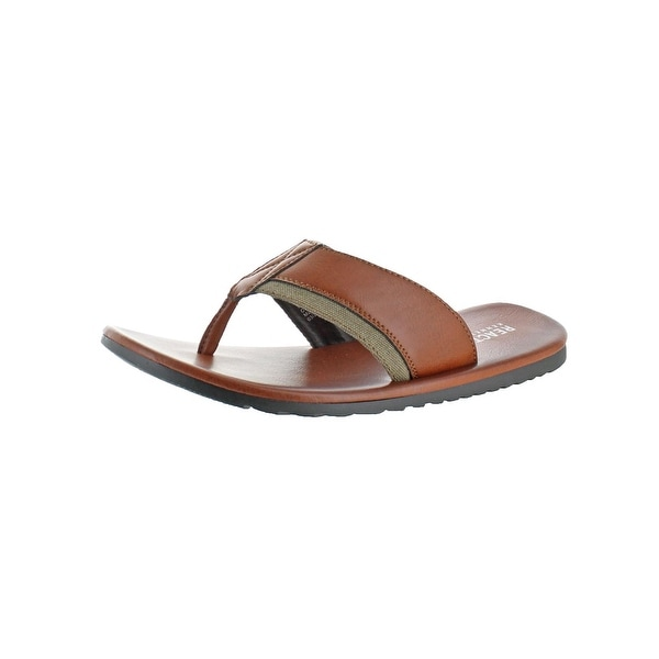 Kenneth Cole Reaction Mens Great Crowd Flip-Flops Casual Thong