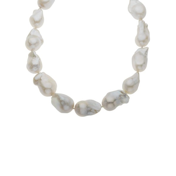 Honora 17 1/2-Inch 16-17mm Baroque Freshwater Pearl Strand with Sterling Silver Clasp