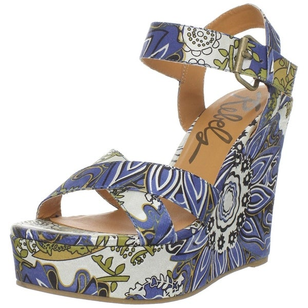 Rebels Women's Katmandu-S Wedge Sandal - 8.5