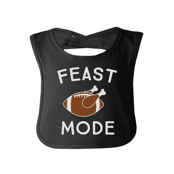 Feast Mode Funny Baby Bib First Thanksgiving Gift For New Parents