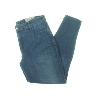 NYDJ Womens Plus Ami Skinny Jeans Modal Blend Nantes Wash