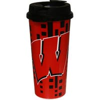 Wisconsin Badgers 16oz Insulated Travel Mug