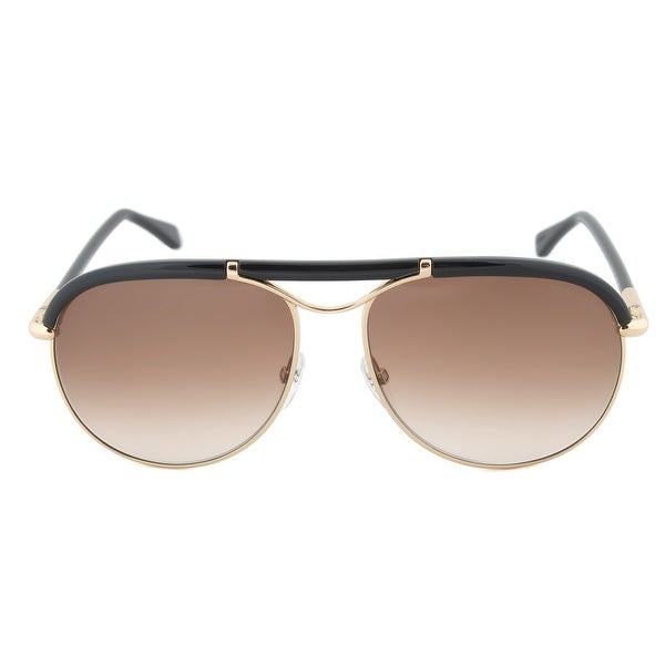 9a1d7c6240 Shop Tom Ford Marco Aviator Sunglasses FT0235 28F 59 - Free Shipping ...