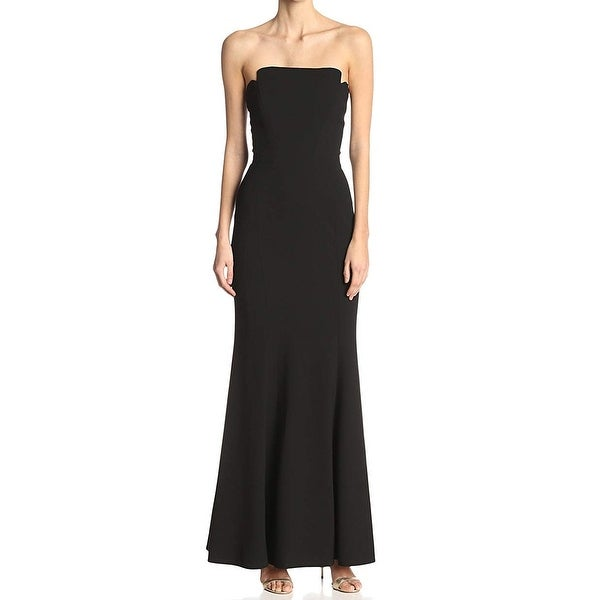 ea7349171e5 Shop Jill Jill Stuart Black Women s Size 12 Strapless Gown Dress ...