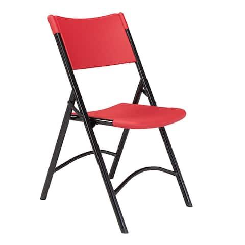 (4 Pack) NPS® 600 Series Heavy Duty Plastic Folding Chair
