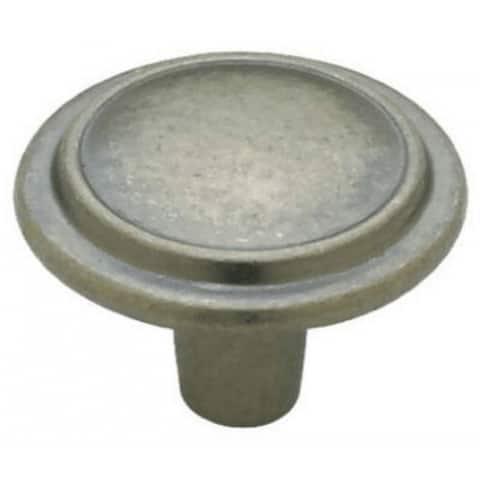 "Liberty P40052L-AI-U1 Top Ring Round Knob, 1-1/4"", Antique Iron, 10 Pack"