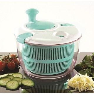 SAMBA Salad Spinner - White & Blue