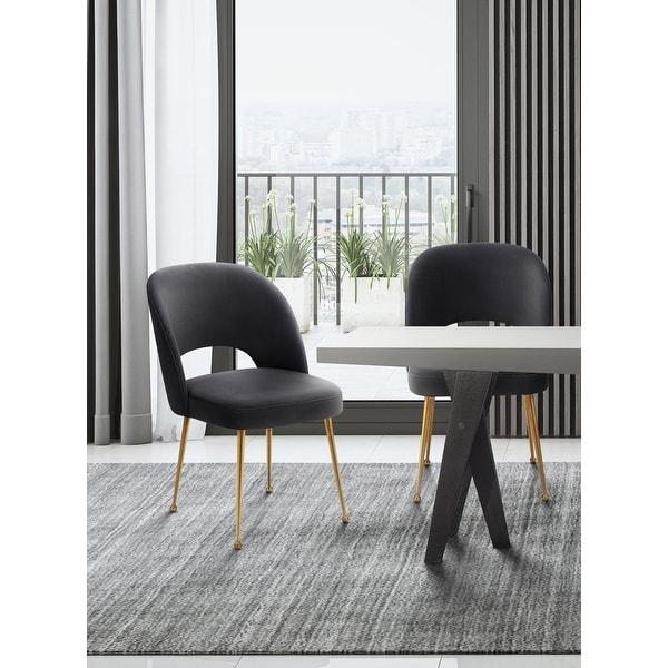 Swell Velvet Upholstered Dining Chair. Opens flyout.