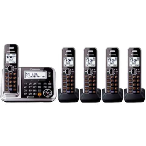 Panasonic KX-TG7875S 5 Handset Cordless Phone
