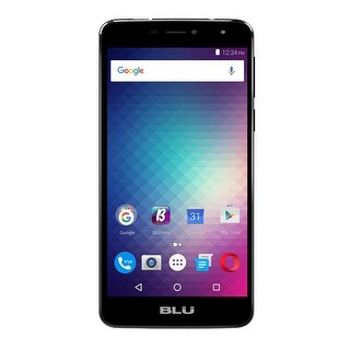 BLU Studio XL2 S0270UU 16GB Unlocked GSM 4G LTE Quad-Core Phone w/ 13MP Camera - Black (Certified Refurbished)
