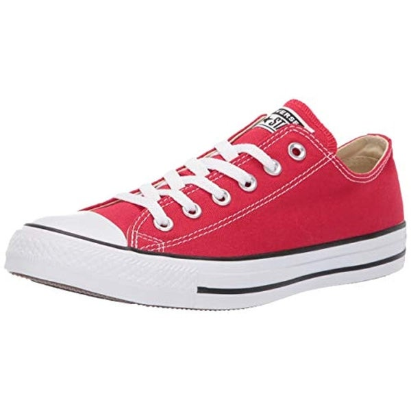 83ccd75a2f6f1e Shop Converse Unisex Chuck Taylor All Star Low Top Red Sneakers - 10 B(M)  Us Women   8 D(M) Us Men - Free Shipping Today - Overstock - 25973810