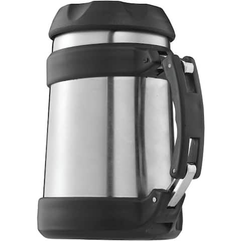 Brentwood Fts-505S 0.5 Liter Vacuum Double Wall Food Jar, Stainless Steel