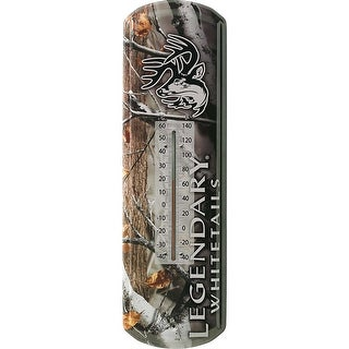 Legendary Whitetails Homestead Big Game Camo Thermometer - big game field