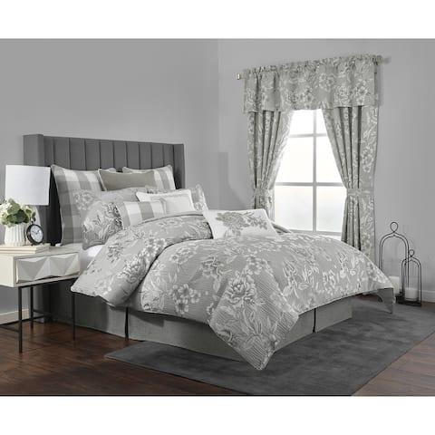 Julianne 4-piece Floral Comforter Set