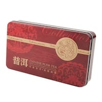 Yunnan Black Tea Small Mini Golden Ripe Cooked Yunnan Puer Tea Iron Box 75g