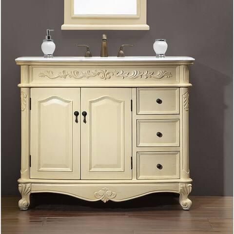 """42"""" Bathroom Vanity Sink"""