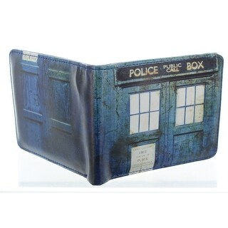 Doctor Who Distressed TARDIS Bi-Fold Wallet