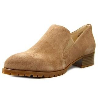 Nine West Lightning Pointed Toe Leather Loafer