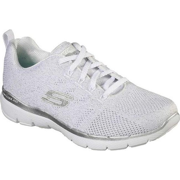 Cheap Sale Skechers Flex Appeal 3.0 Women Skechers White