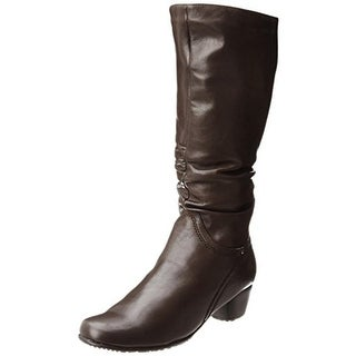 Blondo Womens Evelyn Knee-High Boots Leather Waterproof