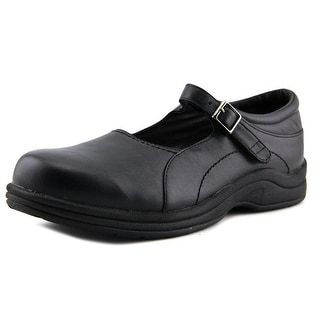 P.W. Minor Park Avenue Women W Round Toe Leather Black Mary Janes