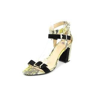 Jessica Simpson Julinda Open Toe Canvas Sandals