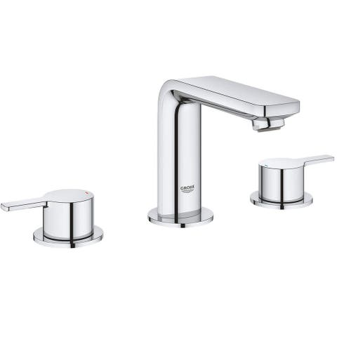Grohe 20 578 A Lineare 1.2 GPM Deck Mounted M-Size Bathroom Faucet
