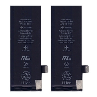 Battery for Apple 61600106 (2-Pack) Cell Phone Battery
