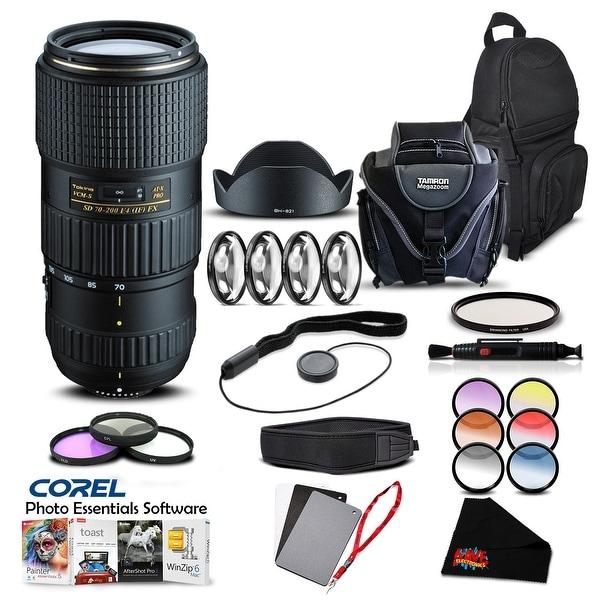 Tokina 70-200 F4 PRO FX VCM-S (for Nikon) (Intl Model) Lens Accessory Kit - black