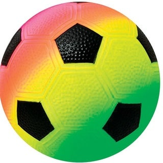 Hedstrom 54-5261BX Soccer Ball, Neon Multicolored, 8.5""