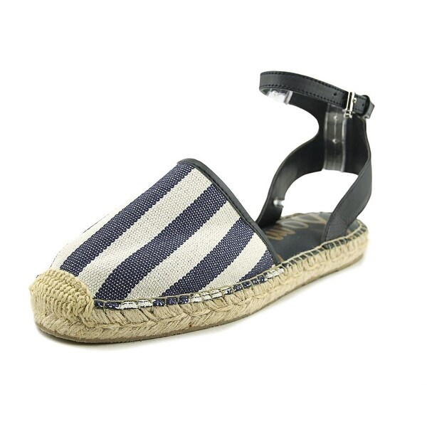 Sam Edelman Vivian Women Open Toe Canvas Blue Sandals