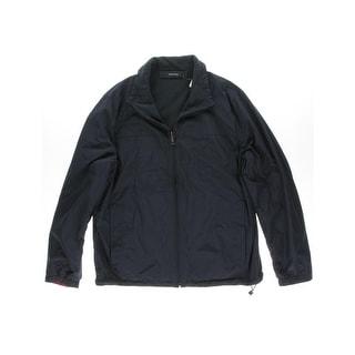 Nautica Mens Fleece Reversible Windbreaker Jacket - XXL