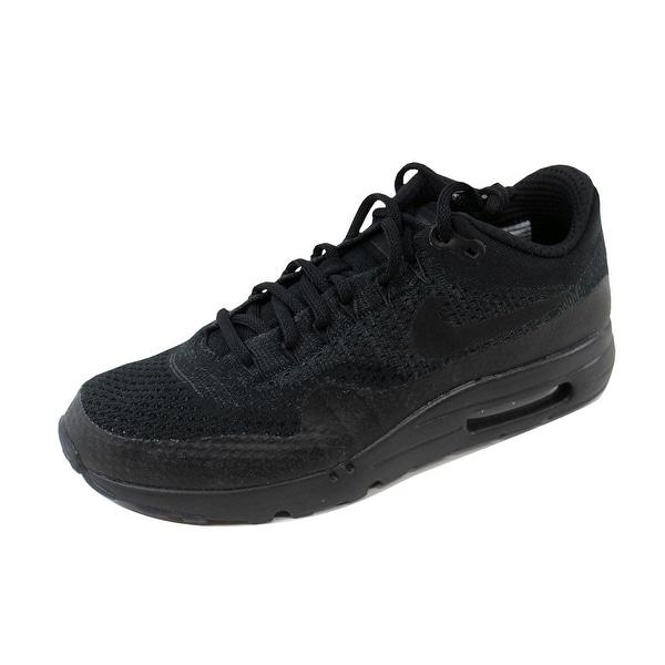Nike Men's Air Max 1 Ultra Flyknit Black/Black-Anthracite 856958-001
