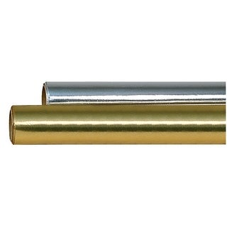 Hygloss Colored Foil Roll, 26 in X 25 ft, Gold