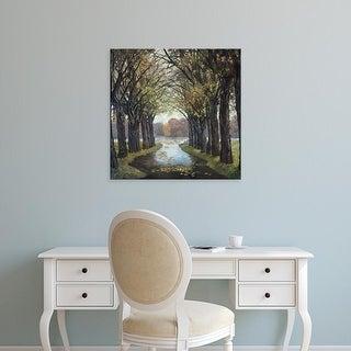 Easy Art Prints Graham Reynolds's 'Lakes Rendezvous I' Premium Canvas Art