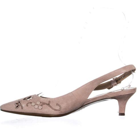 033cd47b10 Naturalizer Womens Peyton2 Leather Pointed Toe SlingBack Classic Pumps - 7