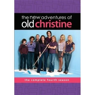 New Adventures Of Old Christine The Complete Fourth Season 5 Disc Set DVD 2008