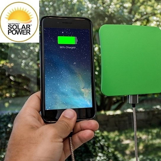 Touch Of ECO Solar Window Charger for Smart Phones & Tablets - Thumbnail 0