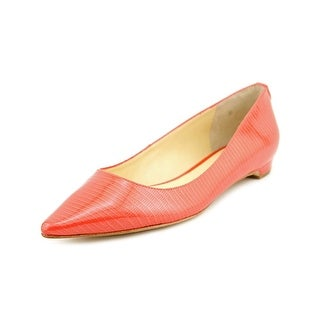 Ivanka Trump Annuly Women Pointed Toe Patent Leather Flats
