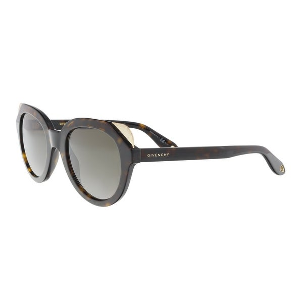 3e6d0f56a2c Shop Givenchy GV7053S 09N4 Havana Brown Cat eye Sunglasses - 50-23 ...