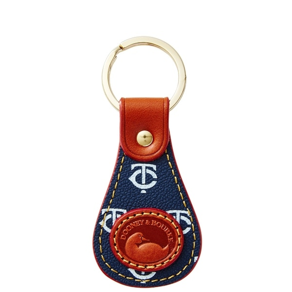 Dooney & Bourke MLB Twins Keyfob (Introduced by Dooney & Bourke at $28 in Oct 2015)