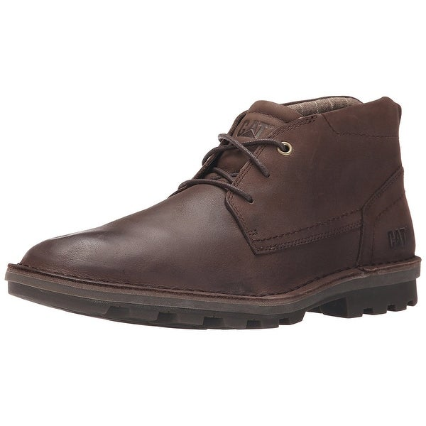 Caterpillar Men's Brady Mid Chukka Boot, Summer Brown, Size 13.0