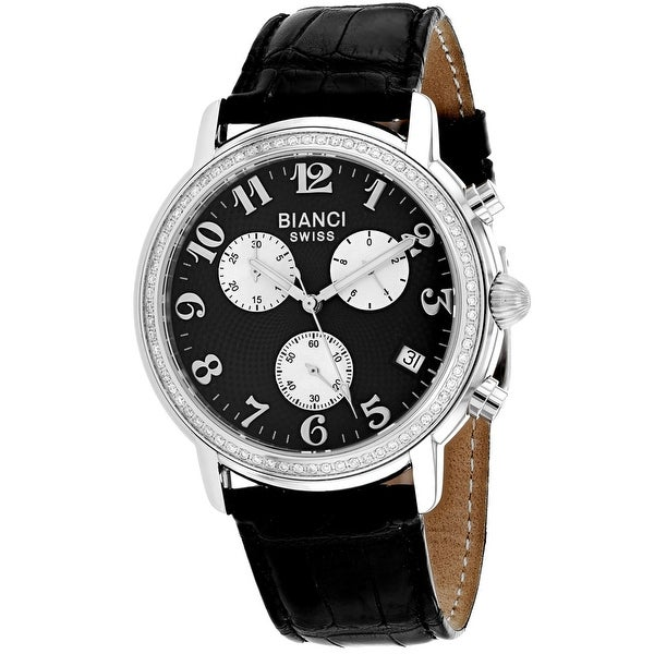 Roberto Bianci 0.76ct Diamonds Women's Medellin RB18220 Black Dial watch