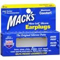 Mack's Pillow Soft Earplugs White 2 Pairs - Thumbnail 0