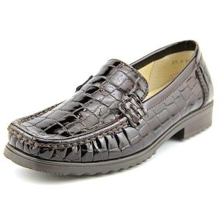 Ara Portland Square Toe Leather Loafer