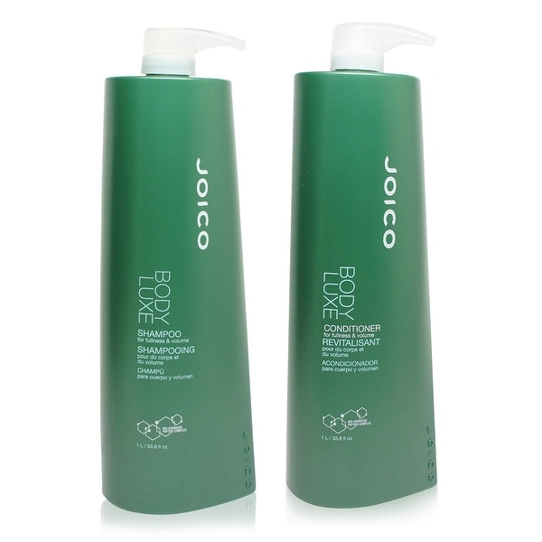 Joico Body Luxe Thickening Shampoo and Conditioner 33.8 Oz Combo Pack