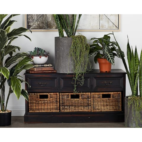 WD 3 Basket Low Dresser 20-inch