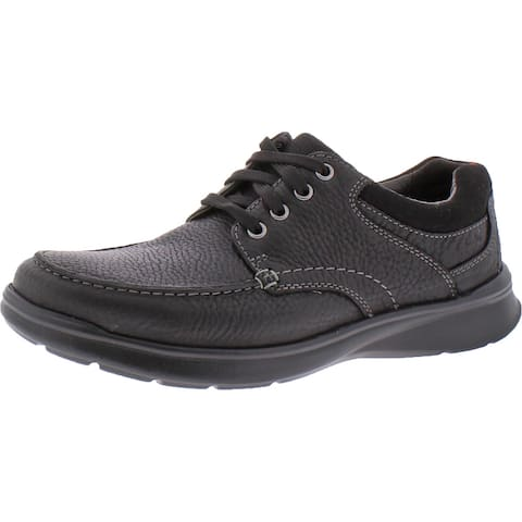 Clarks Men's Cotrell Edge Leather Ortholite Lace Up Casual Oxford